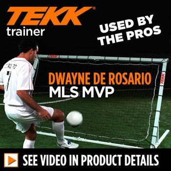 Tekk, Trainer Multi-sport Pro Trainer with Bonus Target Net 2 Nets, Portable, 7 Adjustable Positions, Aircraft Grade Aluminum