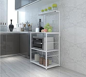 Amazon.de: Multifunktions-Küchenregal Regale Regale Küche 3-Schicht ...