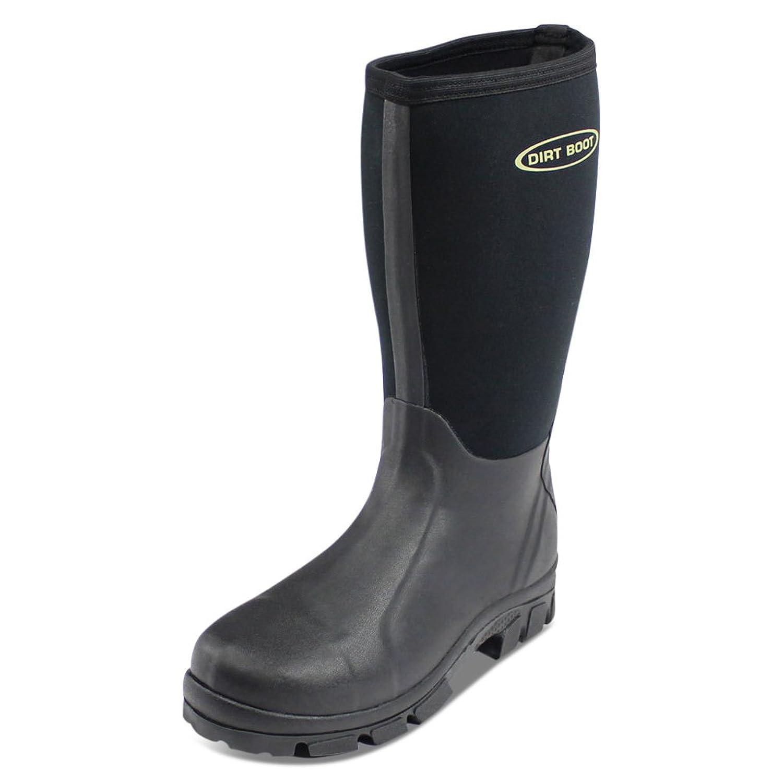 e3551a4ab23bd6 DIRT BOOT NEOPRENE WELLINGTON MUCK BOOTS  Amazon.co.uk  Sports .