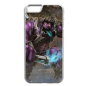 DrMundo-003 League of Legends LoL case cover for Apple iPhone 6 Plus - Rubber White