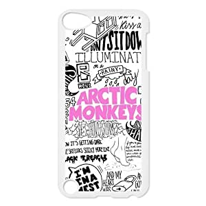 Arctic Monkeys Back Cover Case for New iPod Touch 5th Generation,Protective Arctic Monkeys Hard Plastic Back Fits Cover Case for iPod Touch 5, 5G 5th Generation
