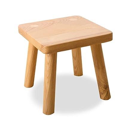 Pleasing Amazon Com Small Stool Nordic Solid Wood Small Bench Home Inzonedesignstudio Interior Chair Design Inzonedesignstudiocom