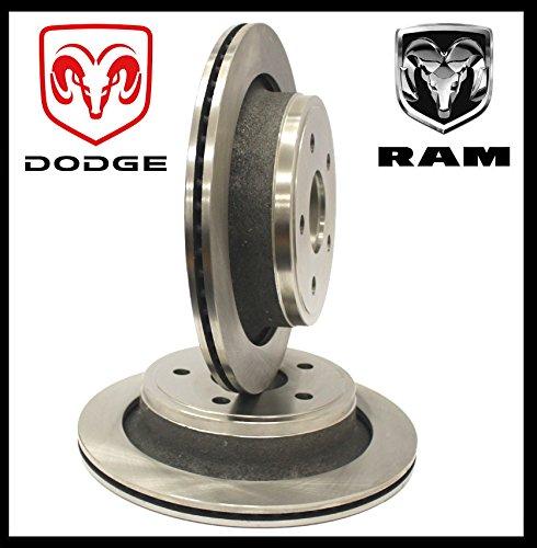 Arrire Paire Disque de frein de frein Ram 1500modles?: 02?17/Durango Bj?: 04?09/ Aspen Bj?: 07?09(seulement 5trous Disque de frein) Power Parts Automotive