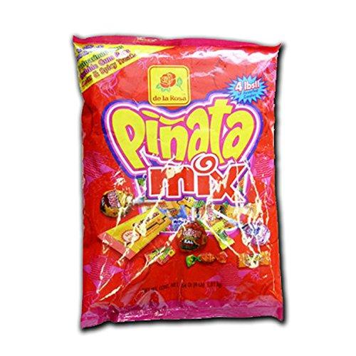 De La Rosa Dulces Mexican Candy 4 lb Pinata Mix Filler