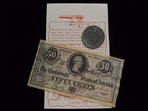 Confederate Coin and Banknote Set Confederate Paper Money