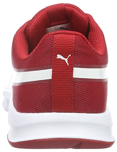 White Barbados Unisex Puma Rojo Adulto puma Zapatillas Flexracer Cherry 15 8qqZwv