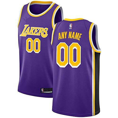 Gold Swingman Basketball Jersey - Men's Los Angeles_Lakers_Purple Custom Swingman Jersey - Statement Edition (M)
