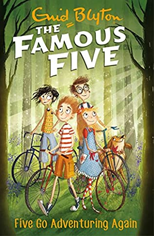 book cover of Five Go Adventuring Again