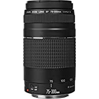 Canon EF 75-300mm f/4-5.6 III Telephoto Zoom Lens for Canon SLR Cameras, 6473A003 (Certified Refurbished) from Canon
