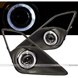 13 14 15 Scion FRS / Subaru BRZ White Halo Projector Fog Lights Lamp Kit GT86 FR-S BR-Z