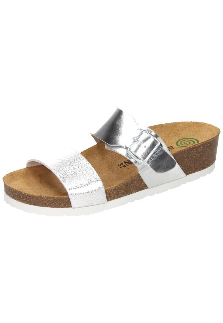 Dr. Brinkmann Damen Pantolette Silber2018 Letztes Modell  Mode Schuhe Billig Online-Verkauf