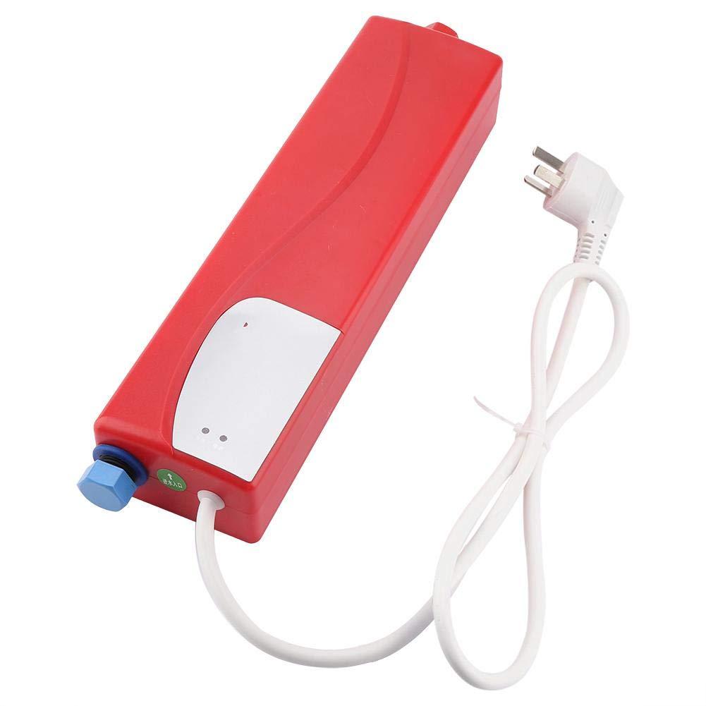 Scaldacqua Scaldabagno Elettrico Istantaneo con Valvola Limitatrice di Pressione Cucina da Bagno 220V 3000W