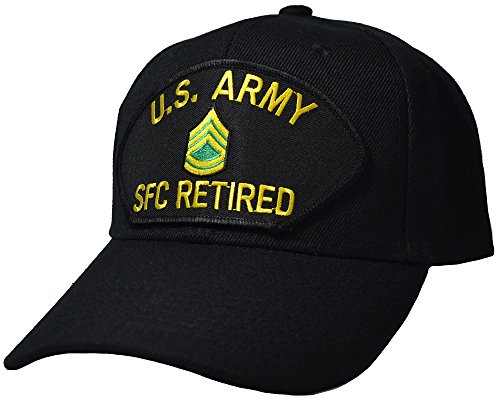US Army Sergeant First Class Retired Cap