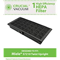Think Crucial Replacement for Miele HEPA Style Filter Fits S200, S300, S600 & S700 Series, Compatible With Part # SF-AH30