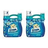 Snuggle Exhilarations Blue Iris and Ocean Breeze Fabric Softener, 96 Oz(2 Pack)