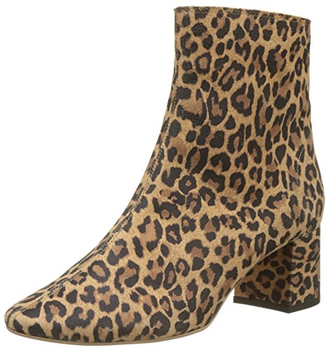 005 leopard Beige Lollipops Botines Chelsea Aspace Boots Mujer nWw00P1Yq