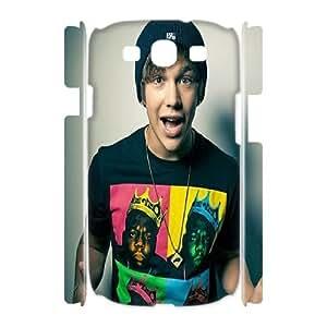 HQYDIY Custom Austin Mahone 3D Plastic Case, DIY Austin Mahone Hard 3D Cell Phone Case for samsung galaxy s3 I9300