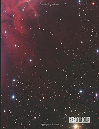 Sketchbook - Red Galaxy Deep Space: 8.5