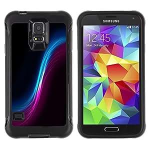 """Pulsar iFace Series Tpu silicona Carcasa Funda Case para Samsung Galaxy S5 V , Espacio Wormhole Cosmos Universo Arte colorido"""""""