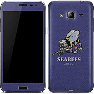 US Navy Galaxy J3 Skin - Seabees Can Do Vinyl Decal Skin For Your Galaxy J3 from Skinit