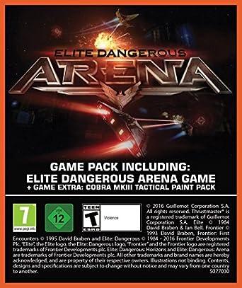 Thrustmaster T16000M + Elite Dangerous Arena - PC [Bundle Limited] [Importación Italiana]: Amazon.es: Videojuegos