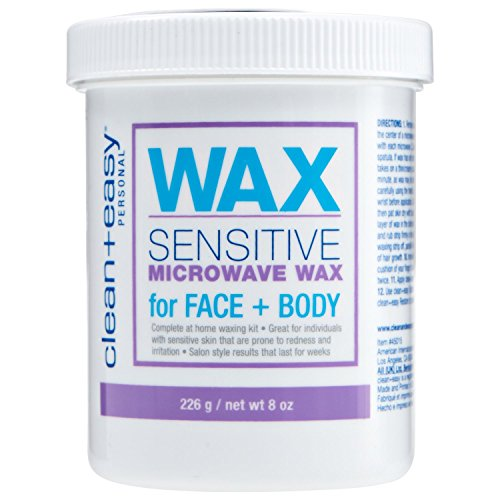 Clean + Easy Sensitive Microwave Wax for the Face + Body - 8 oz