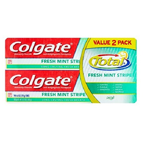 Mint Gel Toothpaste, 2 Count ()