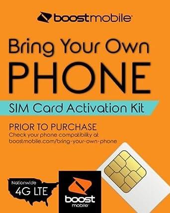 Amazon.com: Boost Mobile - Trae tu propio teléfono - Kit de ...