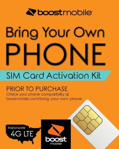 (Boost Mobile - Bring Your Own Phone - 3-in-1 SIM Card Activation Kit)