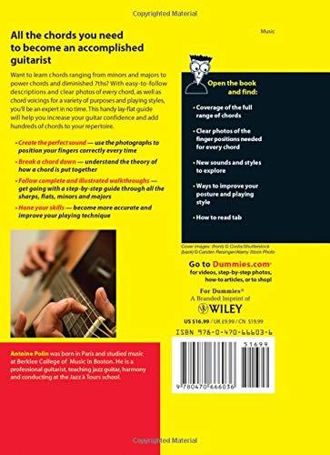 Guitar Chords for Dummies: Amazon.es: Polin, Antoine: Libros en ...