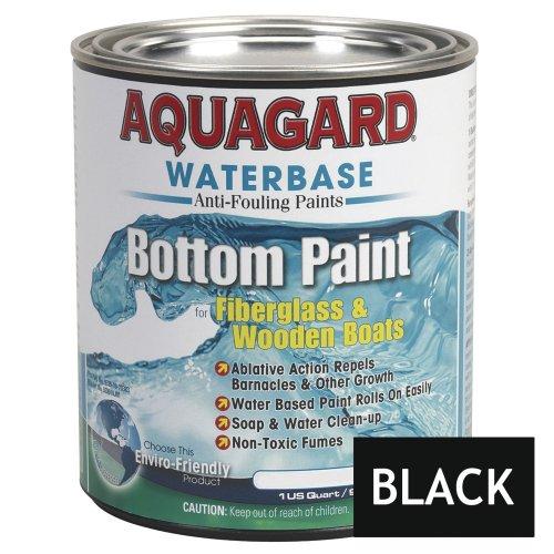 Aquagard Waterbased Anti-Fouling Bottom Paint - 1Qt - Black by Aquagard