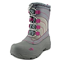 The North Face Alpenglow III Youth US 6 Gray Winter Boot