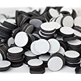 """Flexible Magnets 1/2"""" Round Disc with Adhesive Backing - 250 Pcs"""