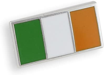 Nickel metal key ring National Flag Ireland NEW