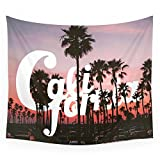 "Society6 Balboa Pier, California Wall Tapestry Small: 51"" x 60"""