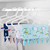 In kds Folding Drying Rack Clothes Drip Hangers 6
