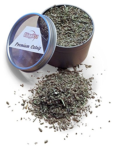 Ultimate54 PREMIUM ALL NATURAL CATNIP 1 Cup Reusable Tin Packed Full Strong North American High Grown for CATS & KITTENS