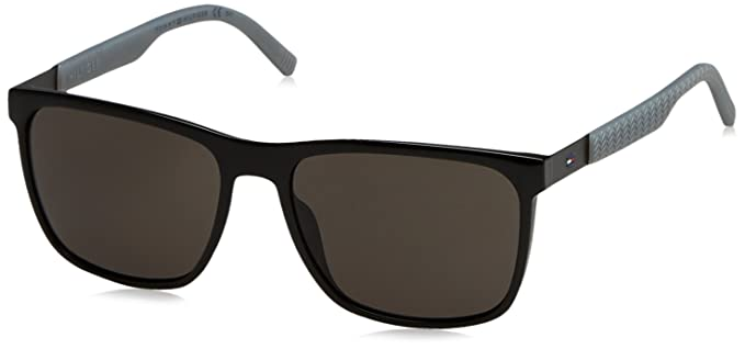 Tommy Hilfiger TH 1445/S NR Gafas de sol, Black Grey, 57 ...
