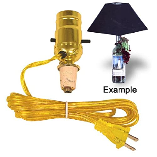 Lights without wiring amazon easy lamp kit turns a wine bottle into an instant lamp lot of 2 sciox Gallery