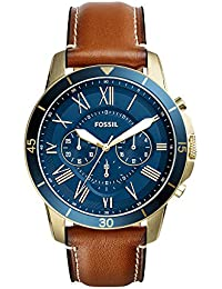 Men's FS5268 Grant Sport Chronograph Luggage Leather Watch