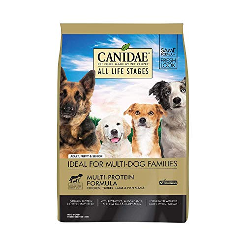 CANIDAE All Life Stages, Premium Dry Dog Food, Multi-Protein Recipe