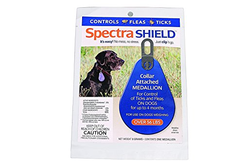 DURVET - PET D 011-1139 SPECTRA SHIELD FOR DOGS 4 MONTH OVER