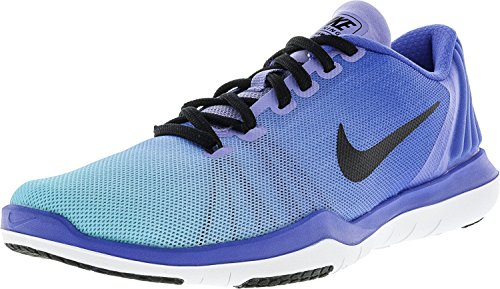 Nike Womens Legend Slim Fit Collant Blu Medio / Nero / Blu Scuro