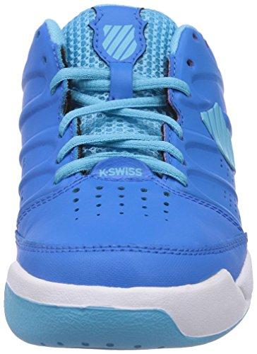 K-Swiss Performance KS TFW ULTRASCENDOR OMNI Unisex-Kinder Tennisschuhe Blau (BLUEASTER/BACHELORBUTTON/WHITE)