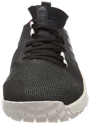 Adidas Mens Crazytrain Pro 3.0 Trf M, Carbon / Cblack / Talc, 10 M Us