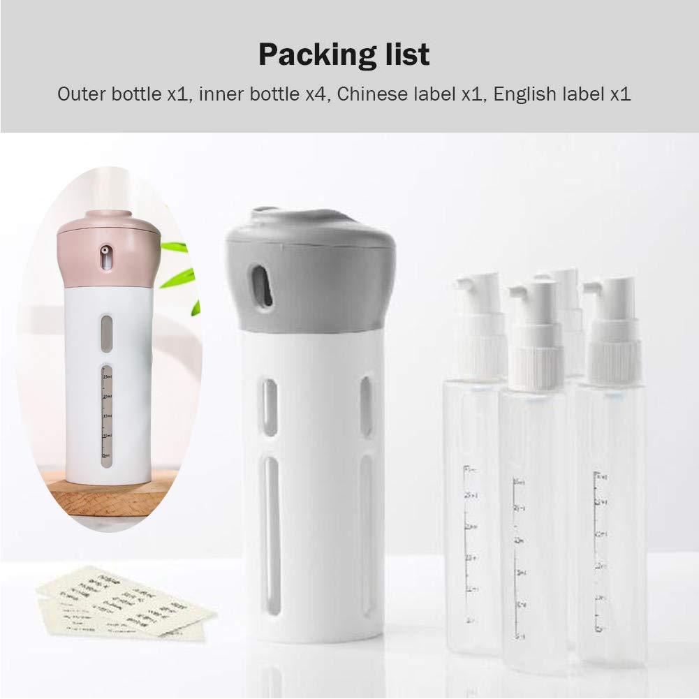 Amazon.com: Volwco - Juego de botellas de viaje 4 en 1 ...