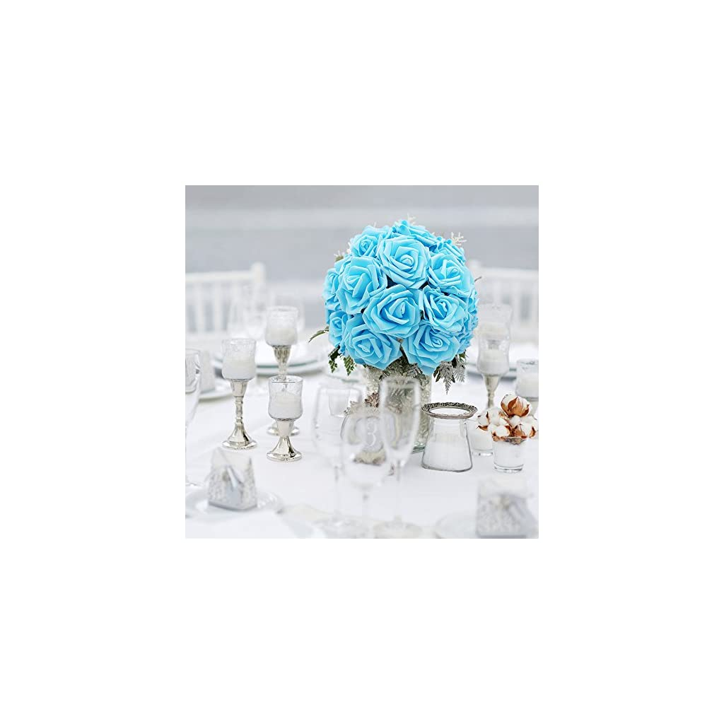 Noex-Direct-30-PCS-Artificial-Flowr-Rose-Real-Touch-Artificial-Roses-for-DIY-Bouquets-Wedding-Party-Baby-Shower-Home-Decor