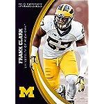 Frank Clark football card (Univerity of Michigan Wolverines) 2015 Panini  Team. 57beff541