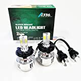SOCAL-LED H4 (9003 HB2) 72W 3Light Automotive LED Bulbs Hi/Lo Headlight Conversion Kit 6000K Xenon White Halogen/HID Replacement
