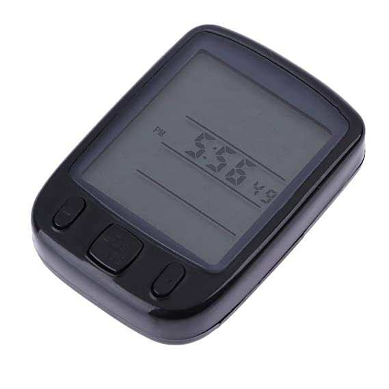 Foru-1 - Velocímetro Digital para Bicicleta (Pantalla LCD, Resistente al Agua)